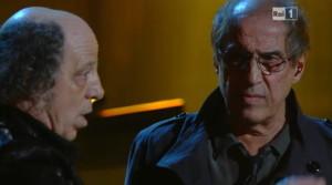 Fio Zanotti e Adriano Celentano