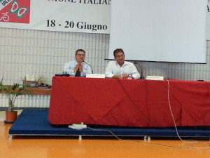Vincenzo Falabella e Carlo Giacobini
