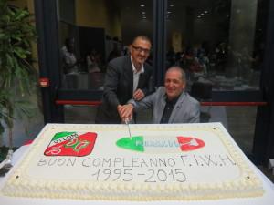 Antonio Spinelli e Luigi Querini tagliano il traguardo dei vent'anni della FIWH