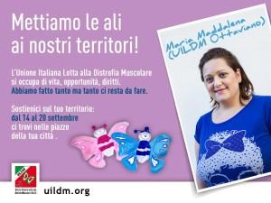 Maddalena Prisco, testimonial della Settimana delle Sezioni UILDM