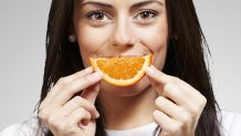 Un sorriso al gusto d'arancia