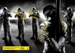 Illustrazione celebrativa per i cinquanta anni di Amnesty International