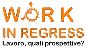 "Il logo di ""Work in Regress"""