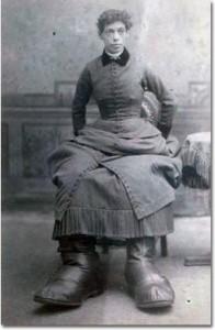 In foto: Fanny Mills