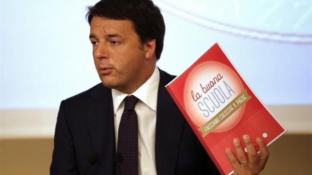 Matteo Renzi presenta la Buona Scuola