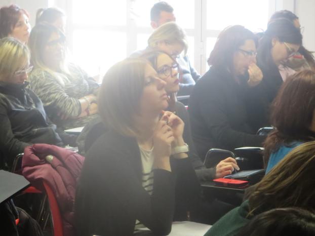 Il pubblico del corso