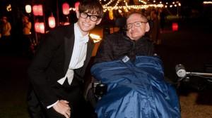"""Eddie Redmayne ha interpretato Hawking ne """"La teoria del tutto"""", 2014"""