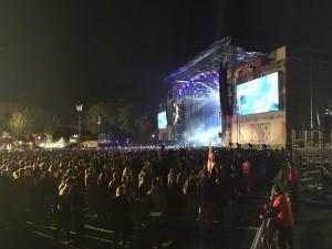 La fase serale dell'evento (Foto di FinestrAperta.it)