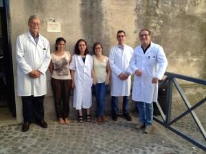 """I volontari di """"Medicina Solidale"""" al colonnato di San Pietro"""