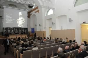 L'interno della Sala Annunciata