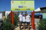 Alcuni volontari di Open Sea
