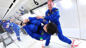 Alcuni astronauti durante l'addestramento avanzato