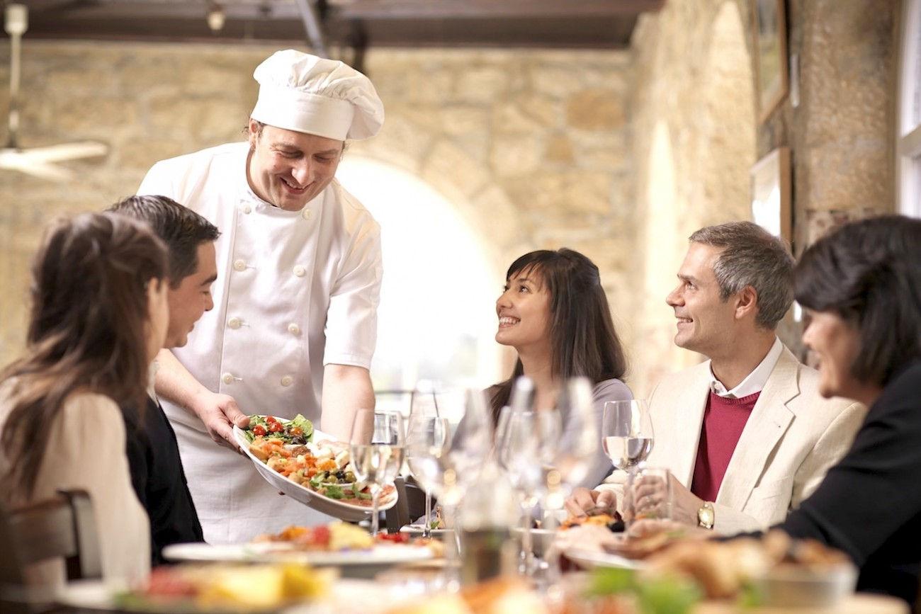 Felici a tavola in certi ristoranti con il conto ti - A tavola con lo chef ...