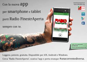 Arriva l'app di Radio FinestrAperta