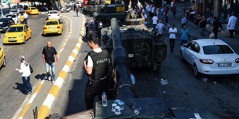 La Turchia dopo il golpe (fonte: Il Post)