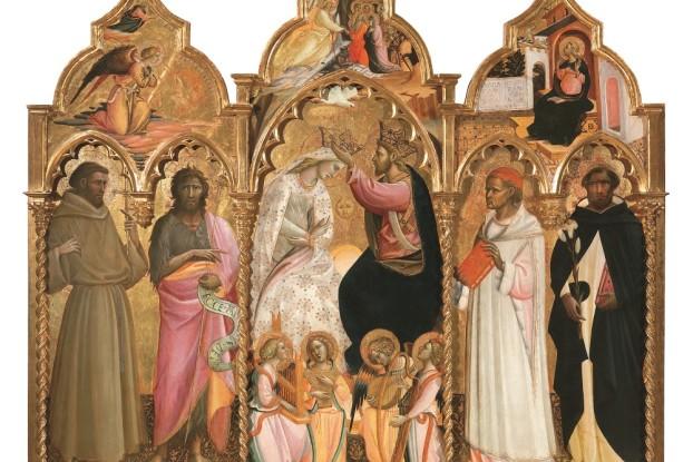 Incoronazione della Vergine, di Giovanni Dal Ponte