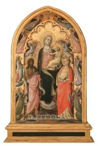 Madonna con Bambino, di Giovanni dal Ponte