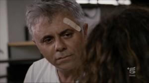 Vito Sciuto subito dopo l'esplosione che l'ha reso disabile - Canale 5