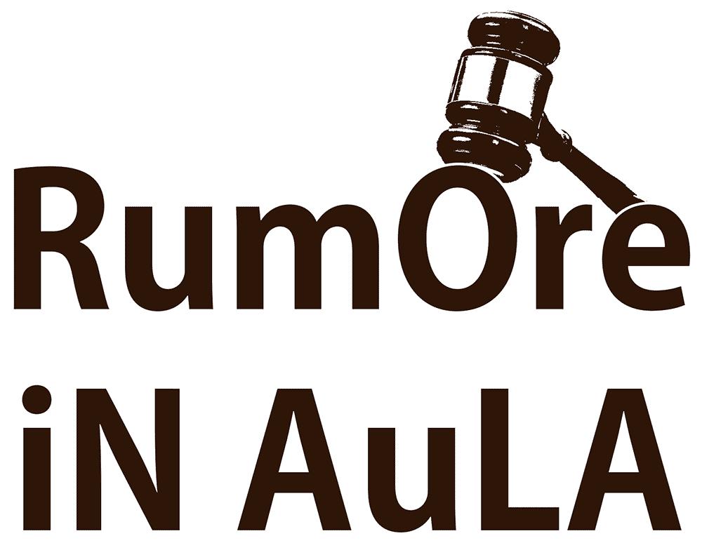 Il logotipo della trasmissione Rumore in Aula