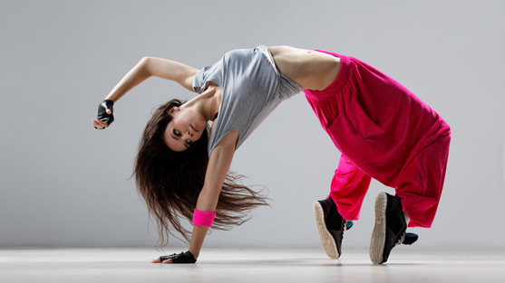 Una ballerina Hip Hop