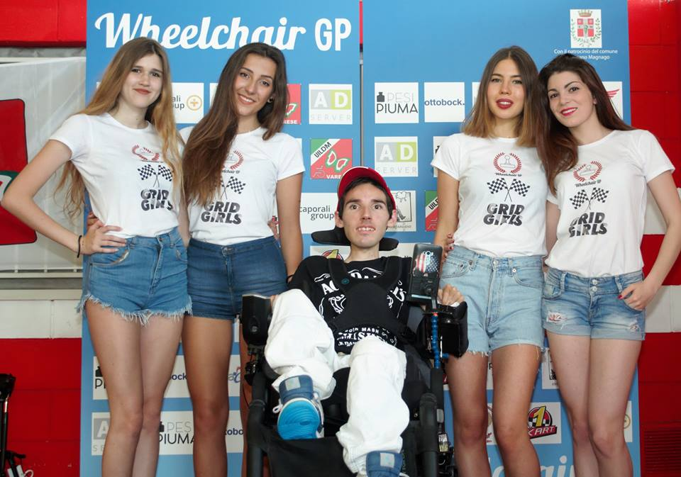 Le ombrelline del Wheelchair GP