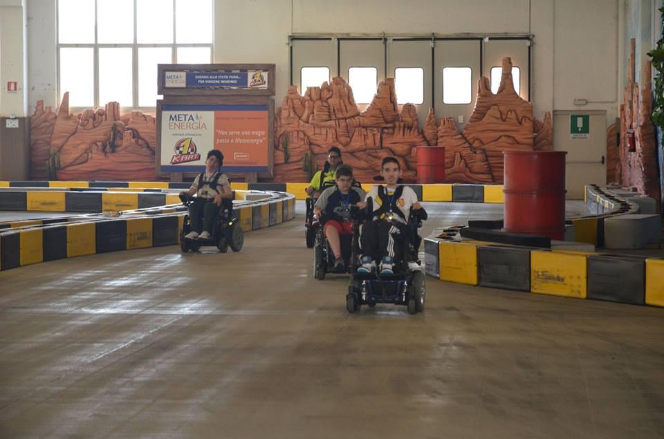 Piloti in pista al Wheelchair GP