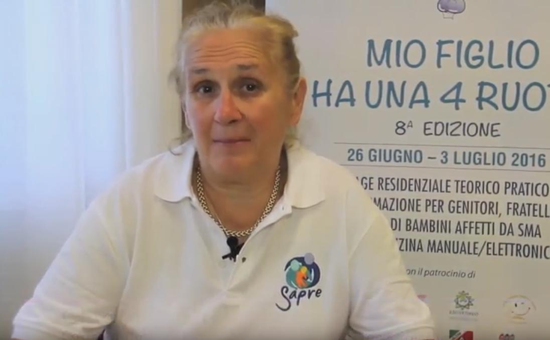 Chiara Mastella, responsabile di Mio Figlio Ha Una 4 Ruote
