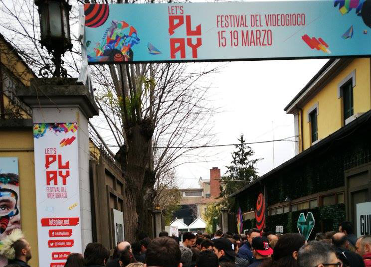 L'ingresso al Let's Play (foto da www.letsplay.net)