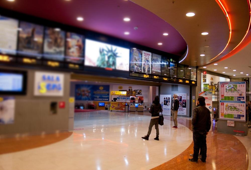 L'ingresso di Uci Cinemas