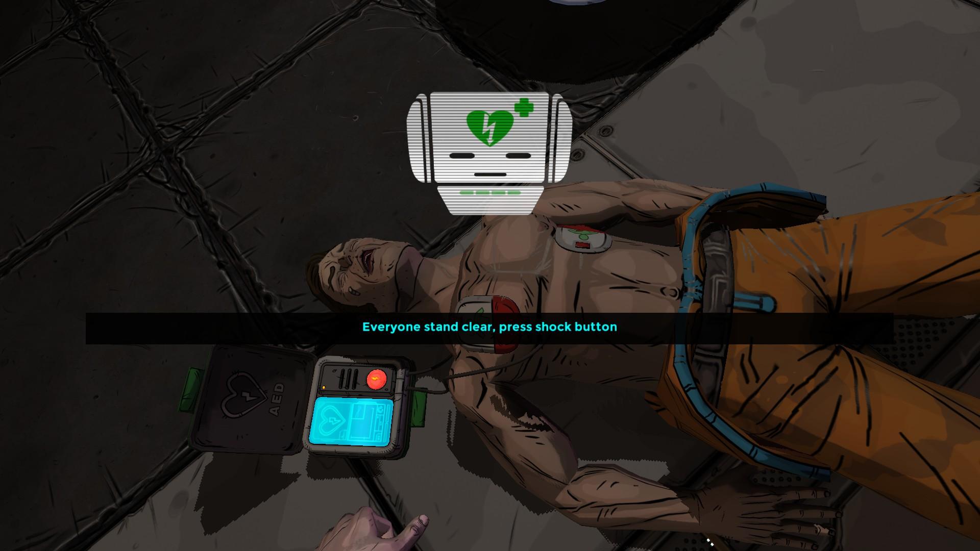 Una schermata del videogioco Relive