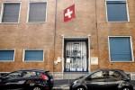 L'ingresso della Scuola Svizzera di Milano