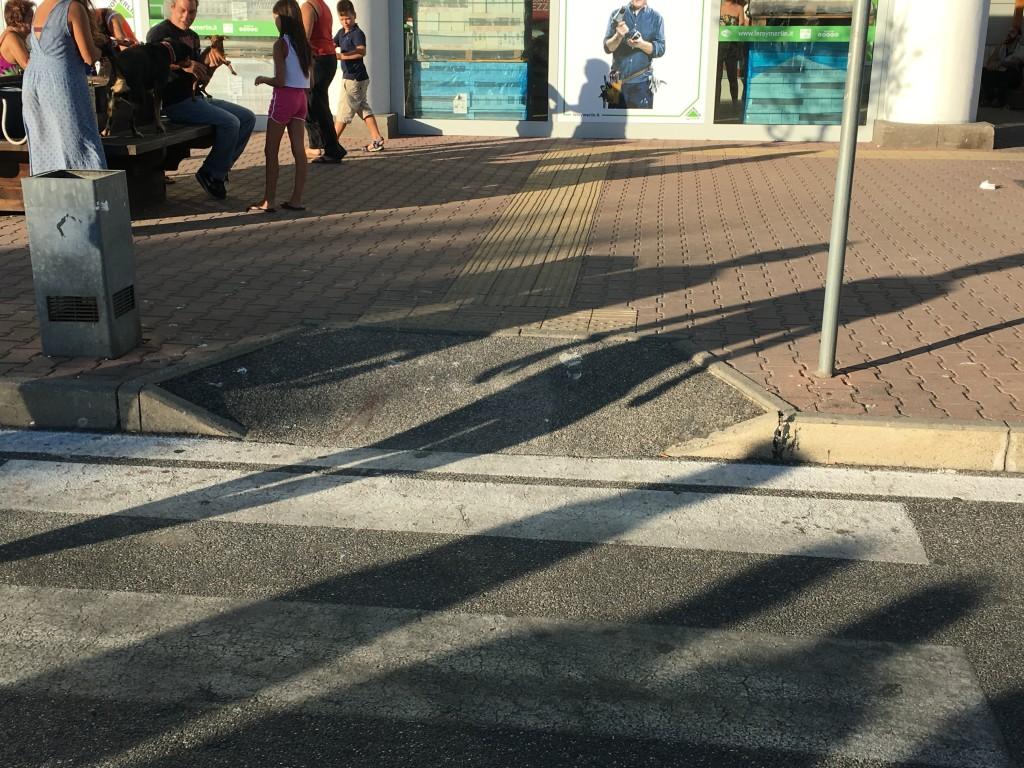 angelo andrea vegliante rampa accessibilità parco commerciale da vinci finestraperta