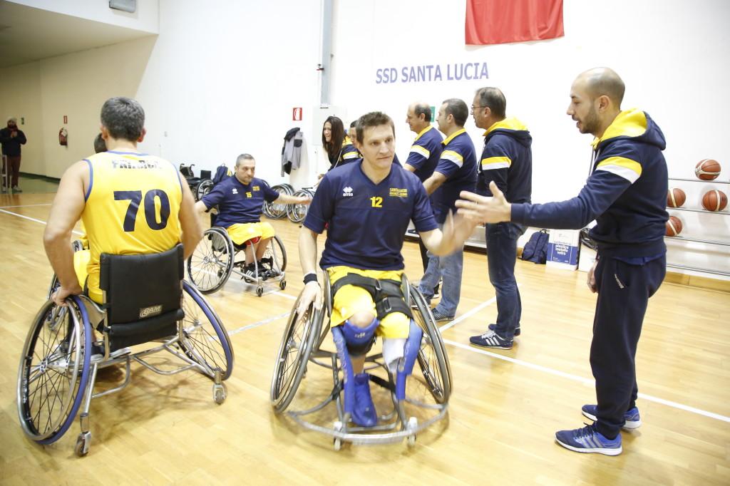 Squadra di basket del Santa Lucia