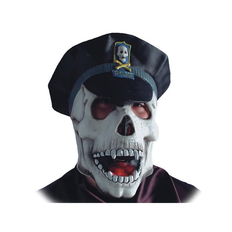 scheletro poliziotto