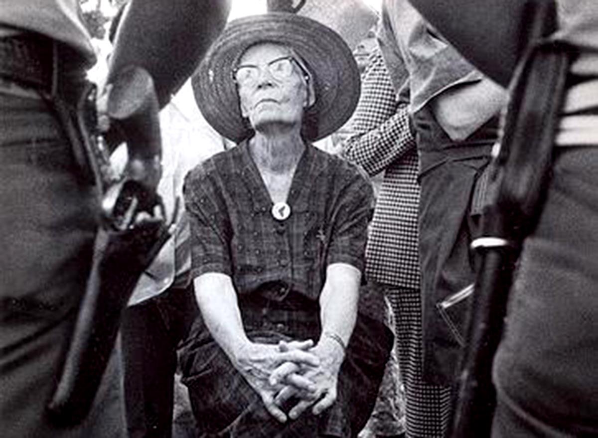 L'attivista statunitense Dorothy Day