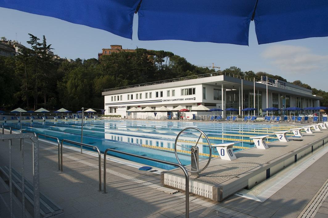 Uno degli impianti sportivi censiti dal Comune di Roma