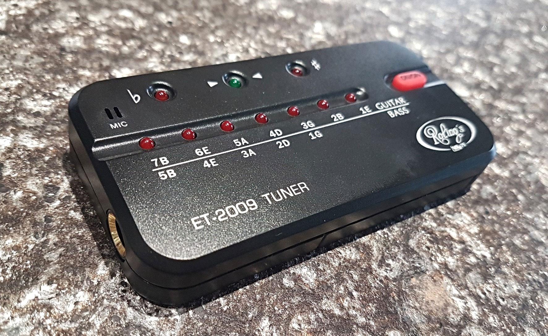 Un accordatore per chitarra che può essere utilizzato dai non vedenti. Lo abbiamo provato e funziona perfettamente