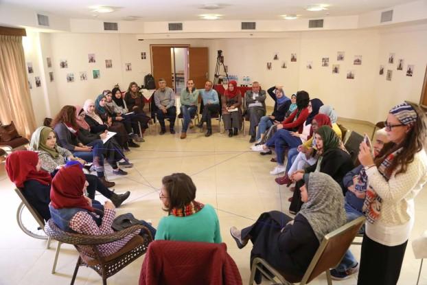 Un momento del progetto We Work a Gaza