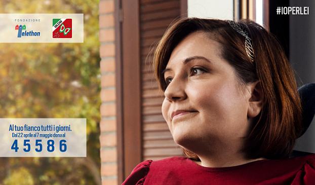 Sonia è una delle quattro testimonial di #Ioperlei