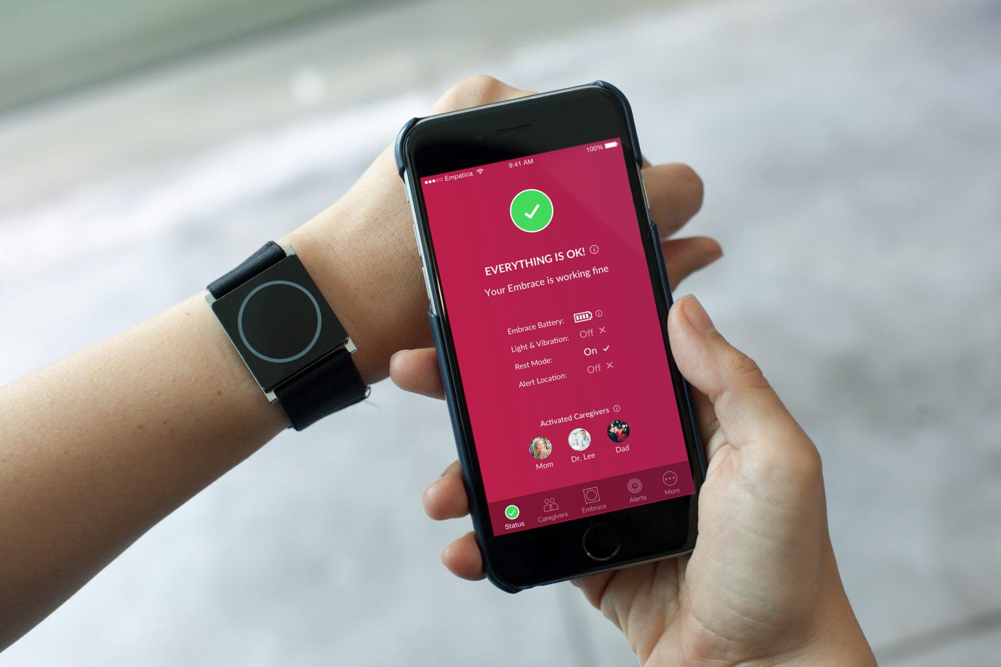 Orologio e telefono collegati per combattere l'epilessia