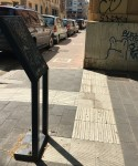 Il percorso tattile di piazza Anco Marzio