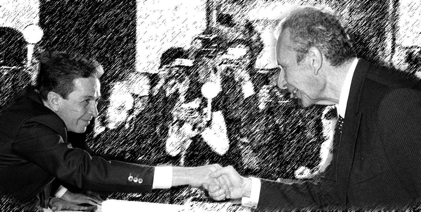 Enrico Berlinguer e Aldo Moro Moro