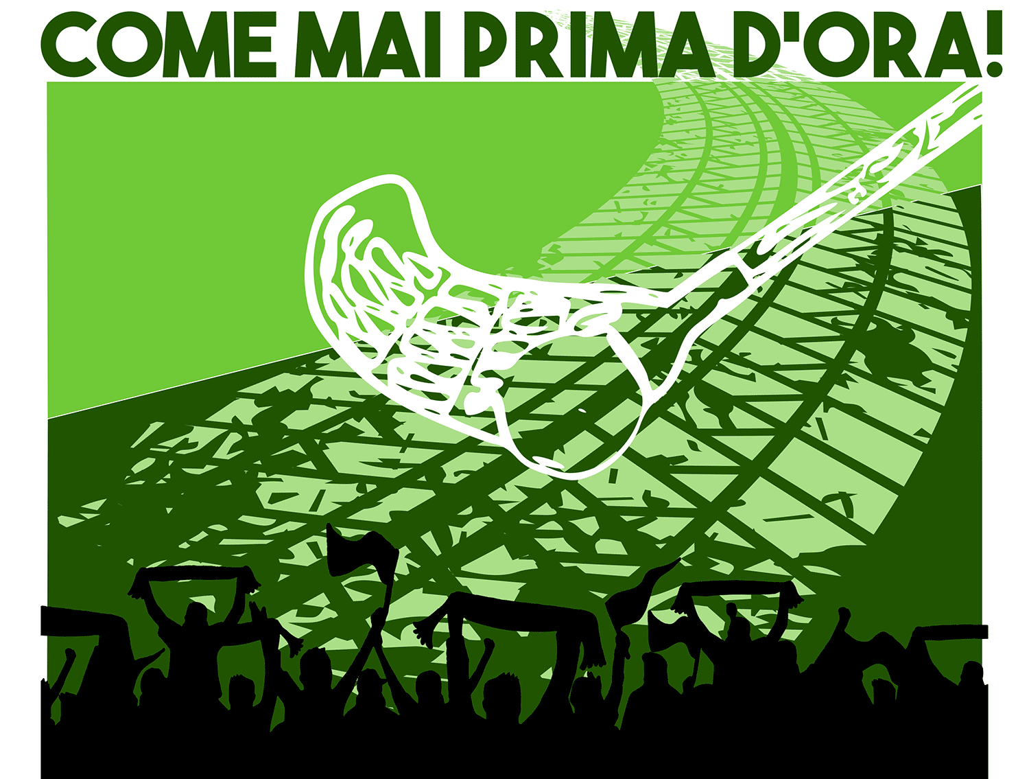 """Come mai prima d'ora"" è lo slogan del campionato di wheelchair hockey"