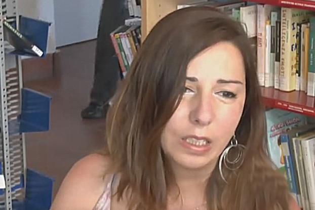 La scrittrice Angela Gambirasio
