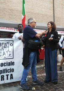 Laura Boldrini alla Perugia Assisi