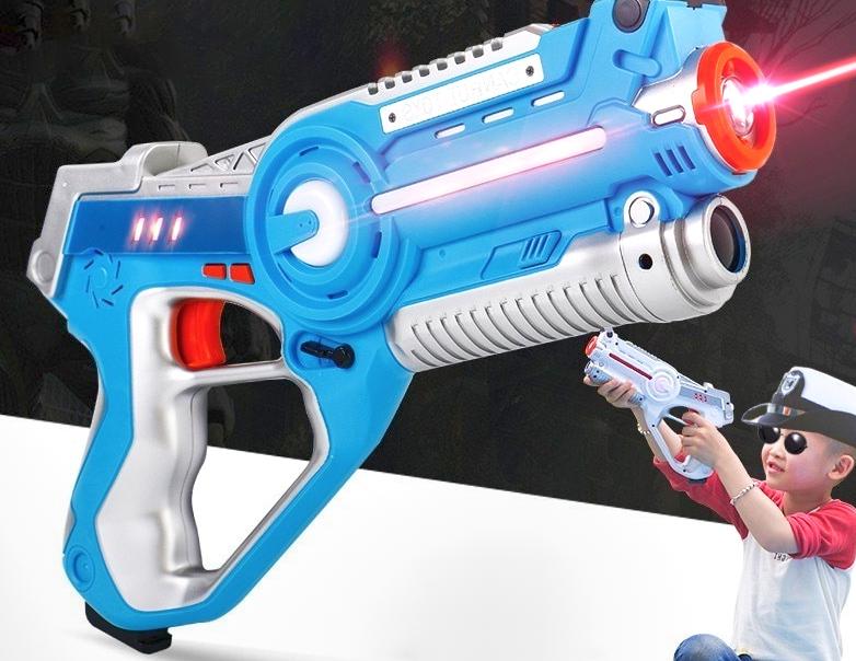 Pistole laser ai vigili urbani? Non è fantascienza!