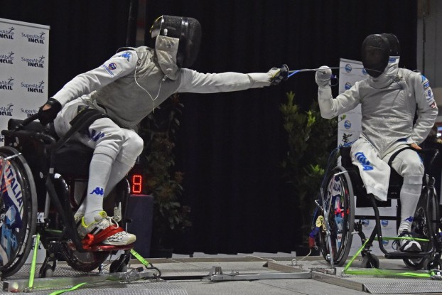 Il Fioretto Paralimpico, una delle tante discipline dei Giochi Paralimpici