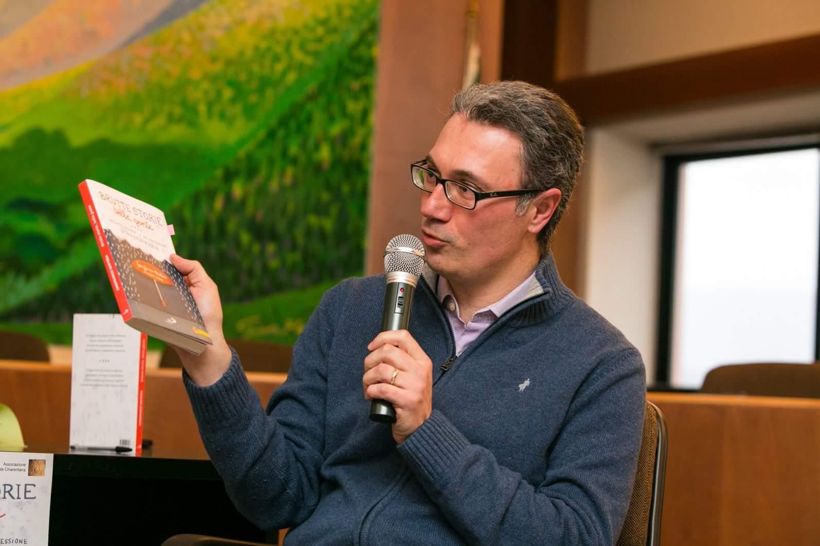 Gianfranco Mattera presenta il suo libro (fonte: Il Dispari)
