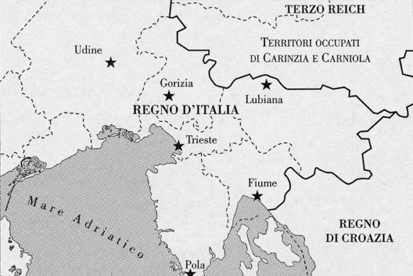Dopo l'aggressione dell'Austria nel1941, l'Italia annesse alcuni territori sloveni e croati