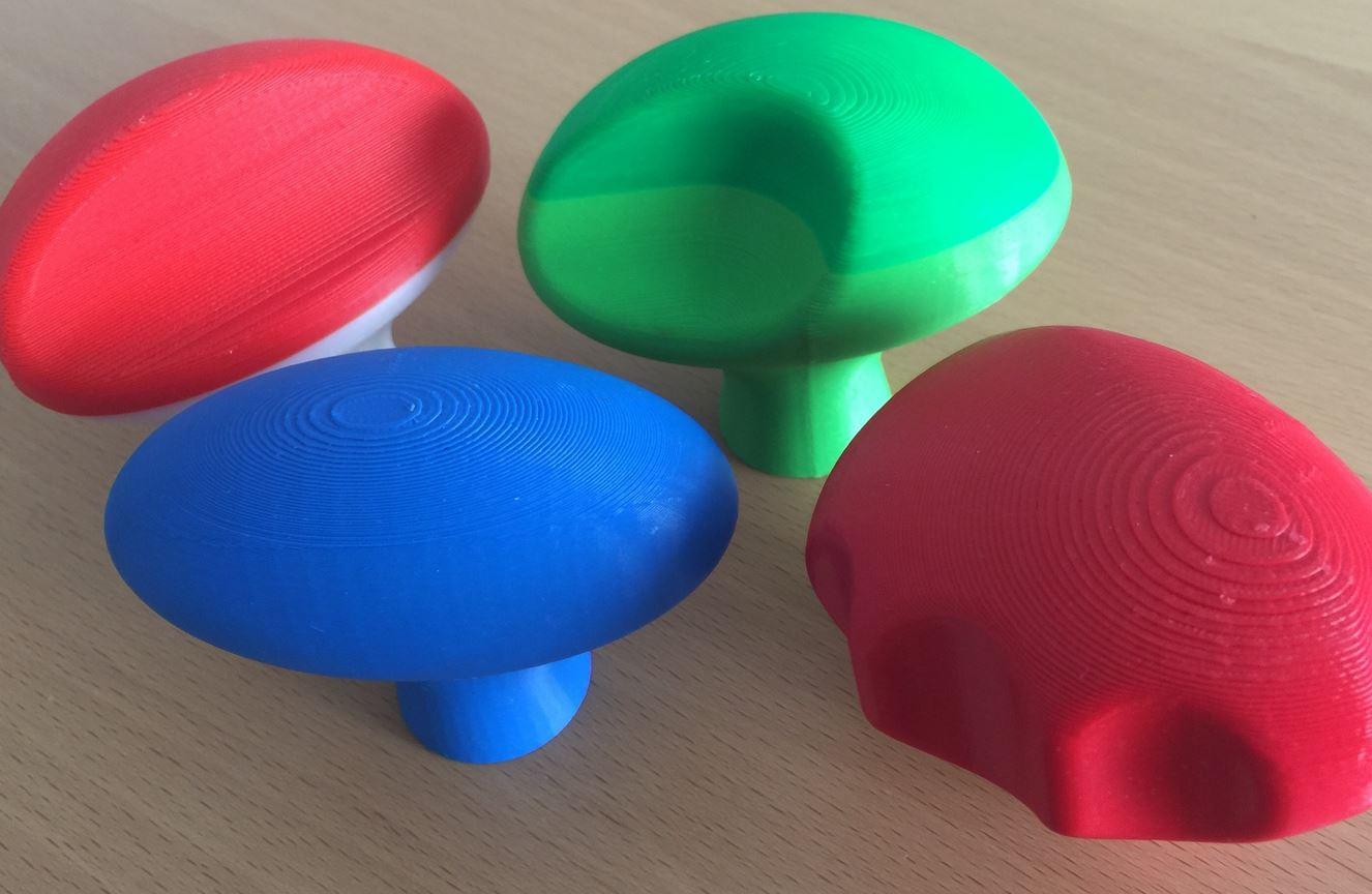 Alcuni prototipi del progetto SPE3D-APP (fonte: Ortopedici e Sanitari)